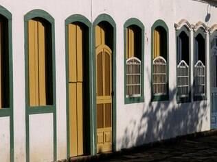 Casario do centro histórico de Paraty