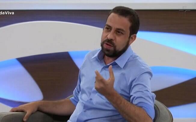 Guilherme Boulos (PSOL) em entrevista ao Roda Viva, da TV Cultura