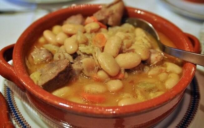 Prato tradicional português Feijoca
