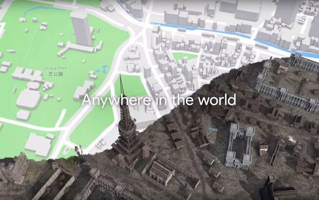 Liberação da API do Google Maps permitirá que criadores usem mapas atuais para criarem jogo medieval, por exemplo