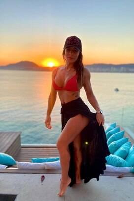Nai Oliveira - Musa do Athletico. Foto: Reprodução/Instagram