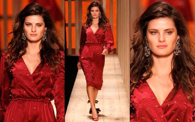 Isabeli Fontana no Fashion Rio