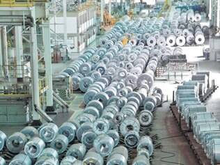 Destaque. Com a melhora dos preços internacionais do aço, as ações das siderúrgicas estão em alta