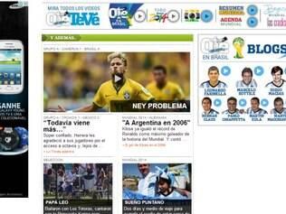 Argentinos também destacam o talento do brasileiro