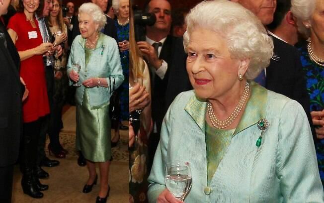 Rainha Elizabeth II comemorou a chegada do Jubileu de Diamante