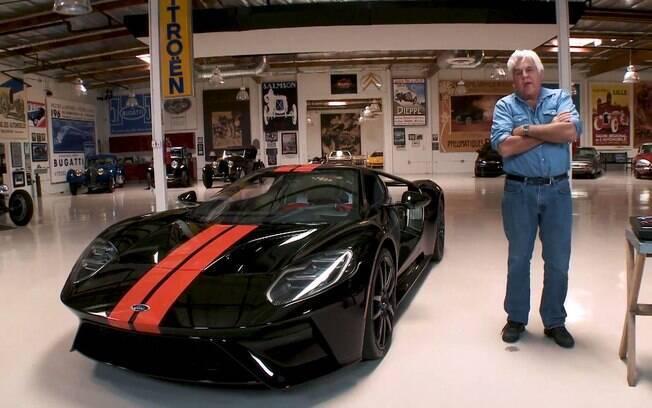 O carro mais caro de Jay Leno é avaliado em US$ 12 milhões, ou R$ 50 milhões em uma conversão simples