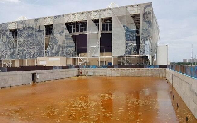 Situação dos locais de prova do Rio 2016 é de total abandono