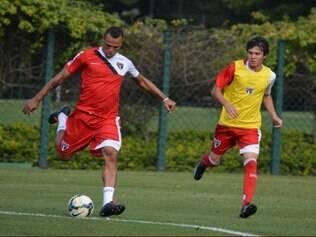 Luis Fabiano não será relacionado para a partida contra o Sport, neste domingo, no Morumbi, pelo Brasileirão
