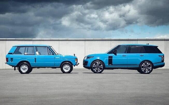 Range Rover faz 50 anos com série limitada da mesma cor azul que foi adotada na primeira geração do SUV de luxo da marca inglesa