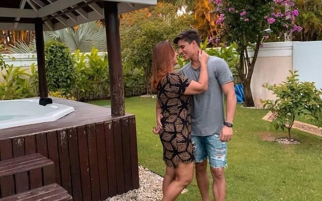 Nadine e Tiago Ramos