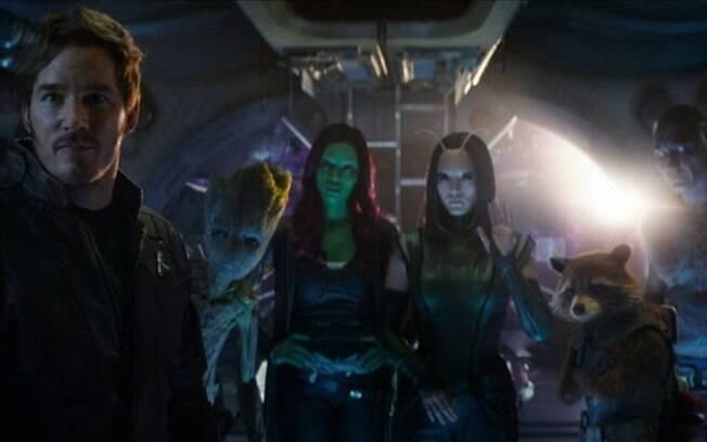 O encontro entre Thor e os Guardiões das Galáxias em
