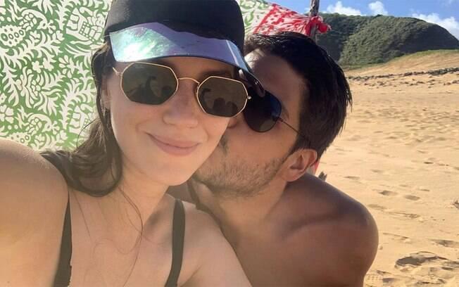 Nathalia Dill e Pedro Curvello