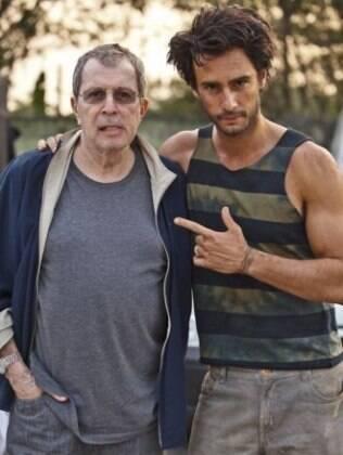 Rodrigo Santoro e Daniel Filho: papel de mocinho