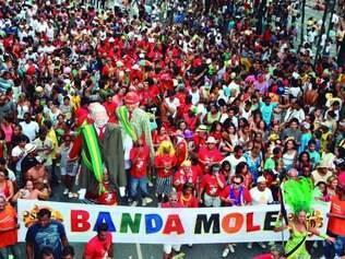 Beneficiada. Banda Mole, segundo procurador Rúsvel Beltrame, já foi isenta de taxa prevista em lei