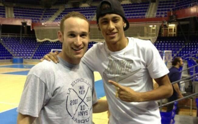 Neymar e Huertas