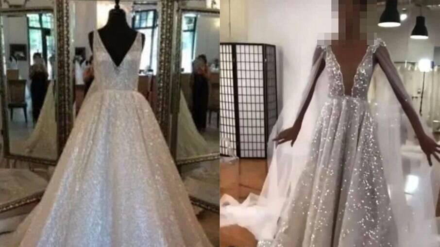 Noiva fica revoltada que cunhada copiou o vestido dela