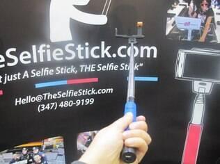TheSelfieStick mostrou atualizações na feira