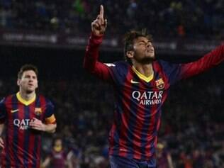 Neymar foi o nome da vitória do Barcelona sobre o Celta de Vigo por 3 a 0