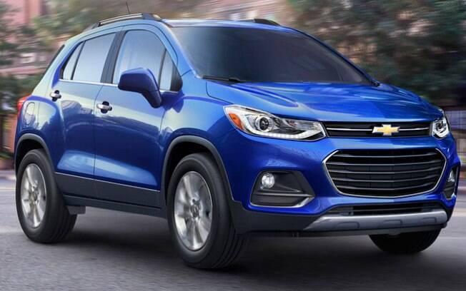 Apresentado no início do ano, o Chevrolet Trackerchega às lojas nos EUA mais caro, por US$ 21.895.