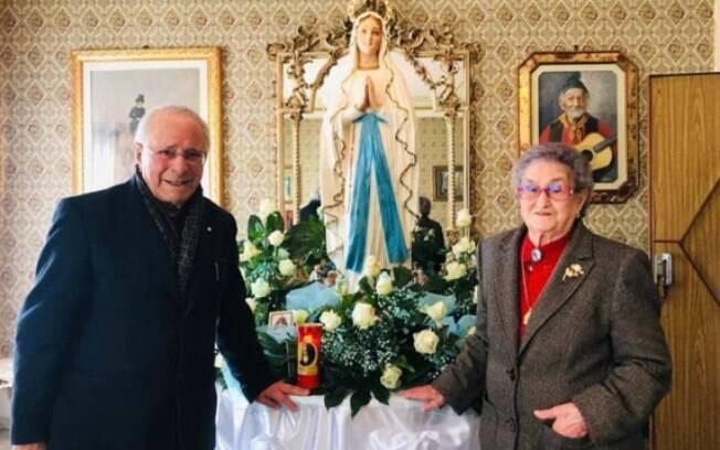 Casal, de 93 anos, esteve junto nos últimos 82 anos