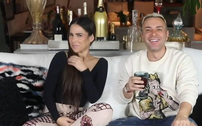 Wanessa Camargo foi a convidada do youtuber Matheus Mazzafera para brincar de