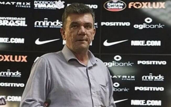 Andrés Sanchez, presidente do Corinthians