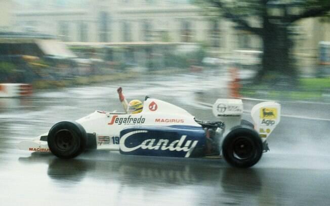 Estreia de Ayrton Senna no GP de Mônaco, em 1984