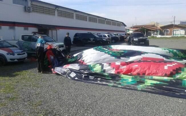 Material apreendido pelos Policiais após Operação Balão em Campinas