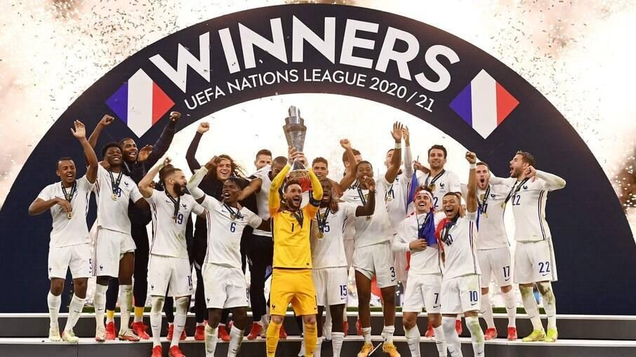 França é campeã da Nations League