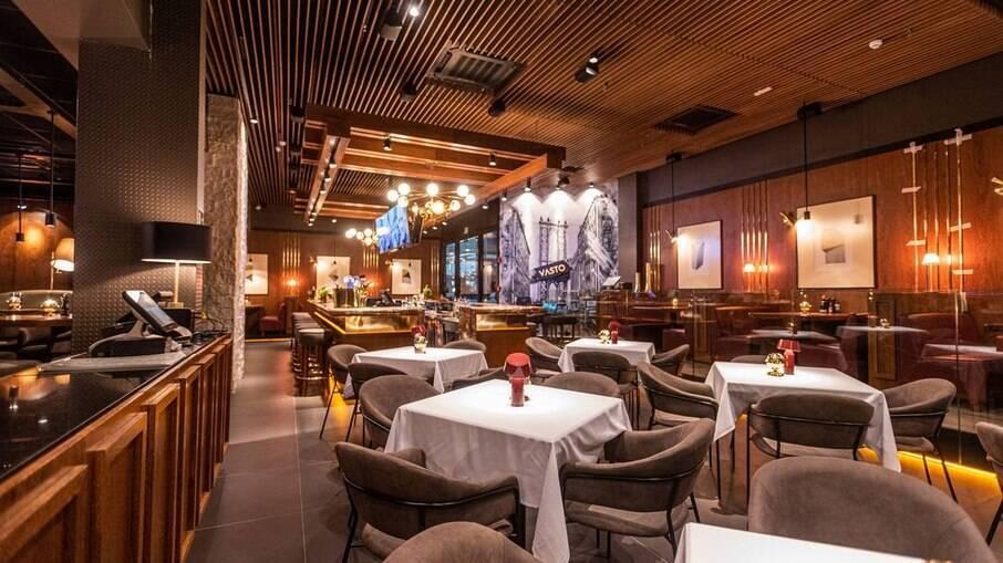 Foto de divulgação do restaurante Vasto, do grupo Coco Bambu