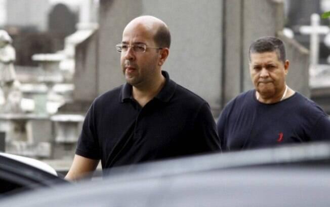 Rafael Alves, patrono do Salgueiro, após a morte do amigo Bidi