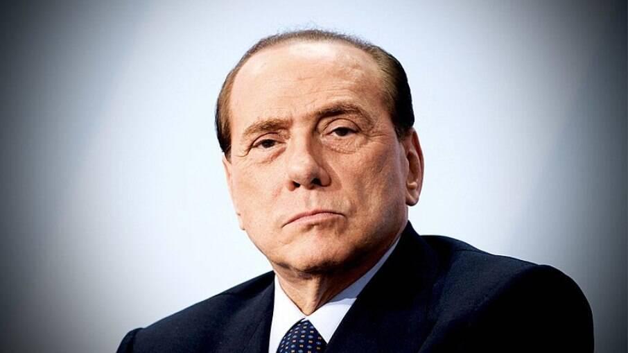 Ex-primeiro-ministro italiano Silvio Berlusconi