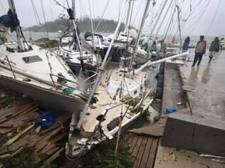 Arquipélago na Oceania sofreu devastação devido a um ciclone