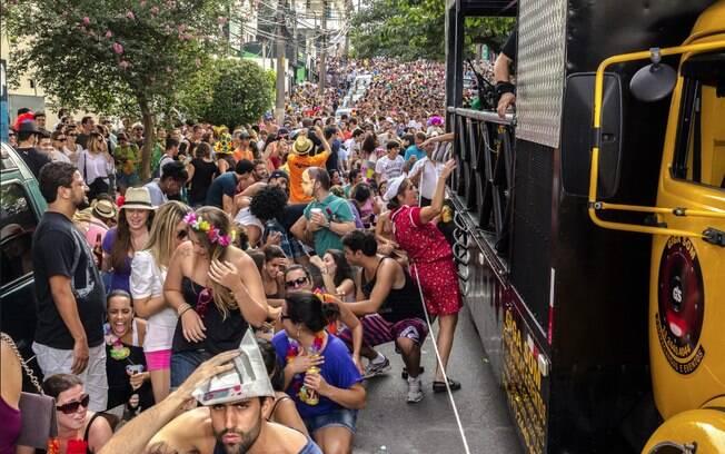 Carnaval de rua em SP