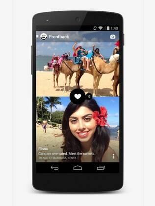 Frontback agora tem versão para Android