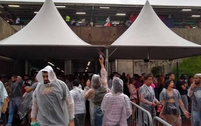 Lollapalooza pode sofrer com chuvas neste domingo