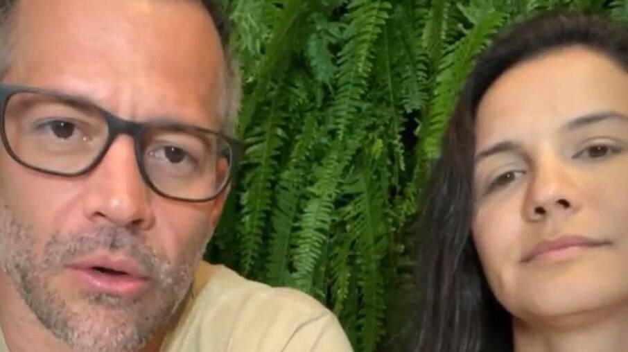Malvino Salvador e Kyra Gracie falam de ciúme em casamento