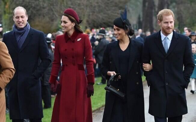 Verdadeiro problema dentro da Família Real britânica é entre os príncipes Harry e William