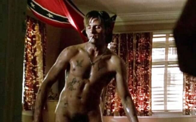 Viggo Mortensen ficou nu no filme
