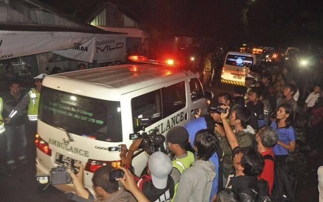 Cardoso Moreira chega à ilha de Nusakambangan, na Indonésia