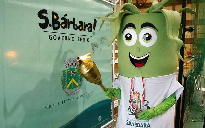 Canito: mascote dos Jogos Regionais de Santa Bárbara D'Oeste