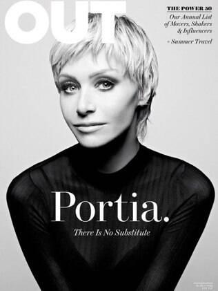 Senhora DeGeneres: Portia de Rossi integra a lista da revista Out dos gays mais poderosos do EUA, assim como sua mulher Ellen