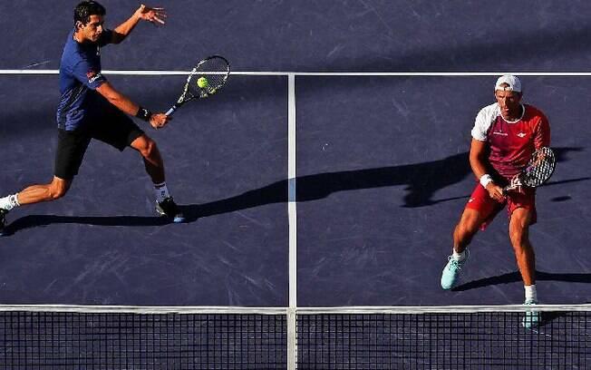 Melo e Kubot derrotaram Djokovic e Fognini e tentarão primeiro título em Indian Wells