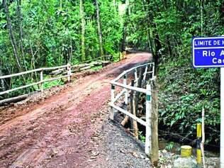 Limite.  Serra do Gandarela, na parte de Rio Acima, vira patrimônio público e não pode ser explorada