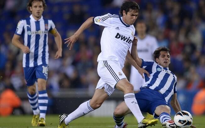 O título ficou garantido com o empate do Real  Madrid com o Espanyol