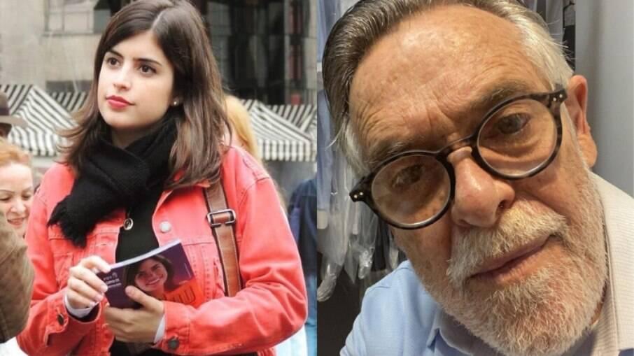 Tabata Amaral fala sobre agressões verbais sofrida por José de Abreu