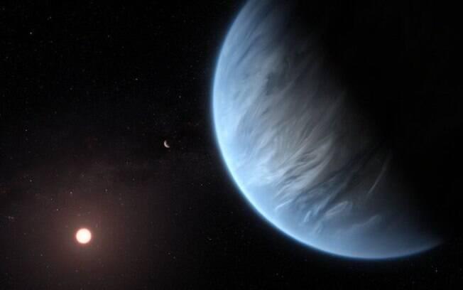 Planeta circula em estrela anã vermelha