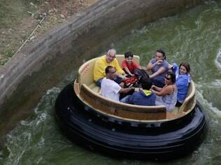 O Rio Bravo, assim como o carrinho bate-bate, foi um dos brinquedos preferidos