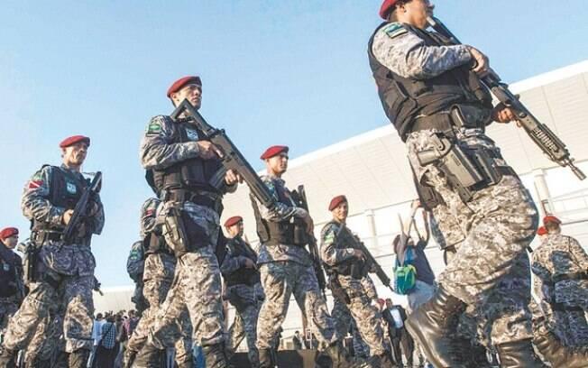Força Nacional assumiu a segurança de todas as instalações olímpicas para combater o terrorismo