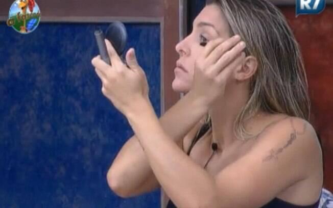 Joana Machado se prepara para atividade